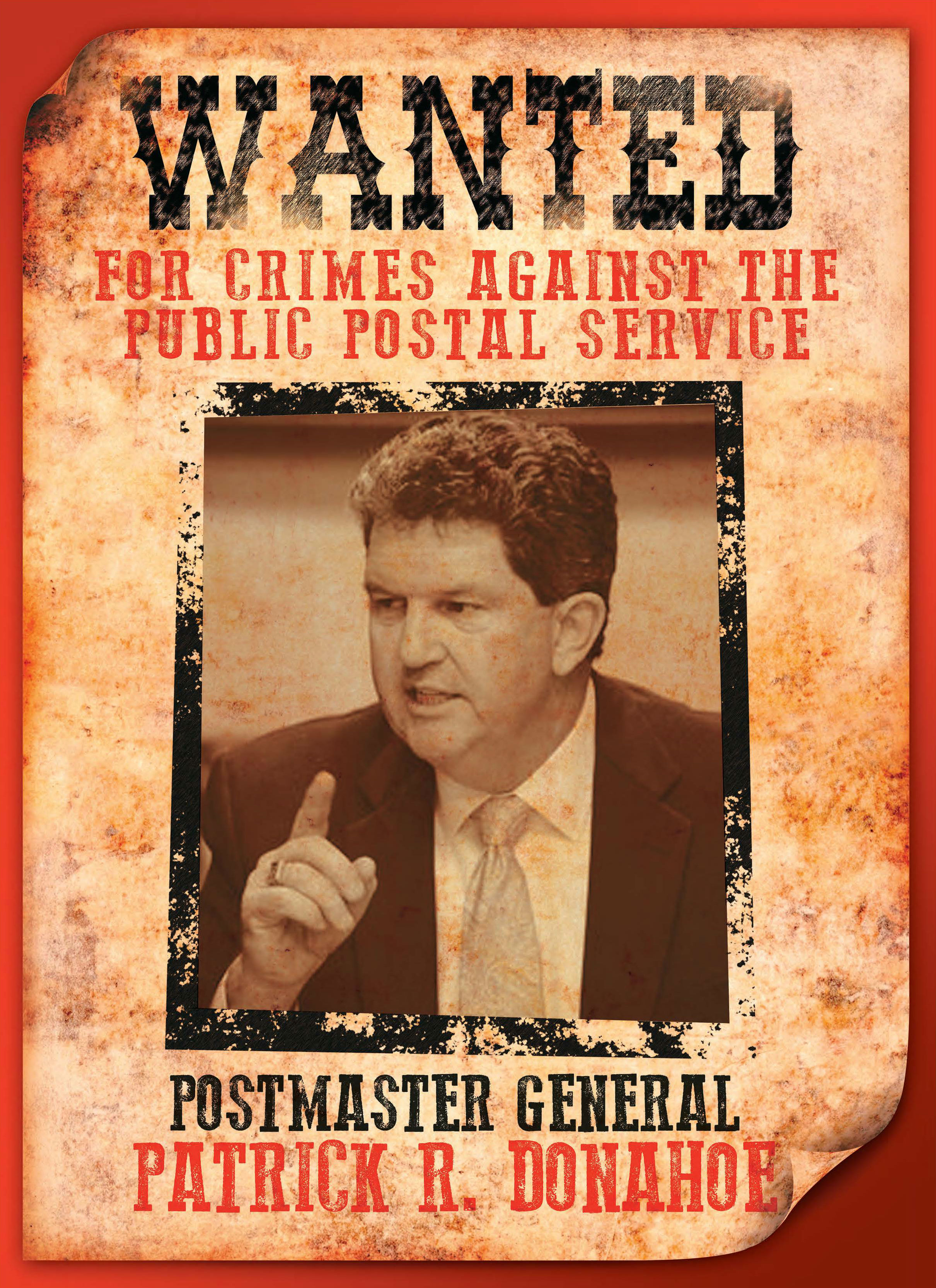 Apwu It S Okay To Post Wanted Poster Of Pmg On Bulletin