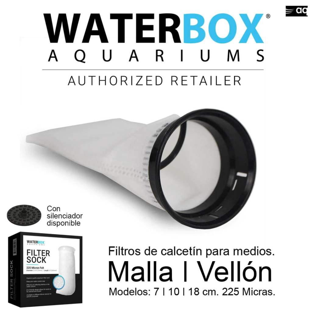 waterbox filtro de calcetín