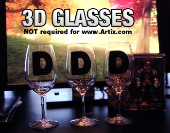 No 3D glasses required.