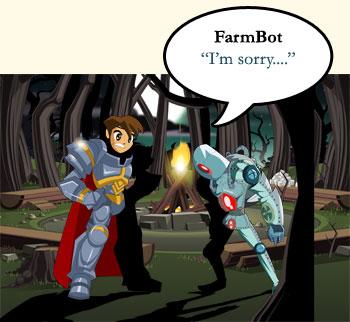 Farmbot diz me desculpe ....