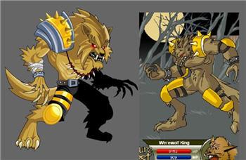 Werewolf King Redo