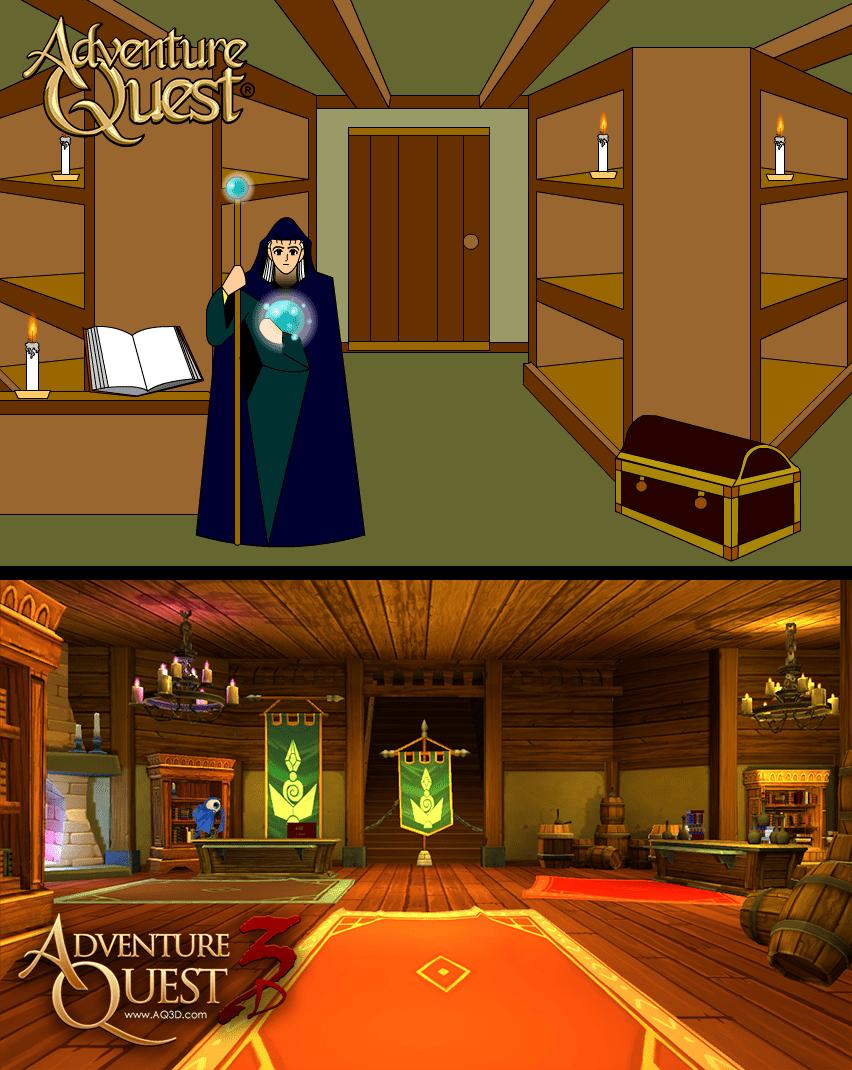 Resultado de imagem para warlic magic shop adventure quest