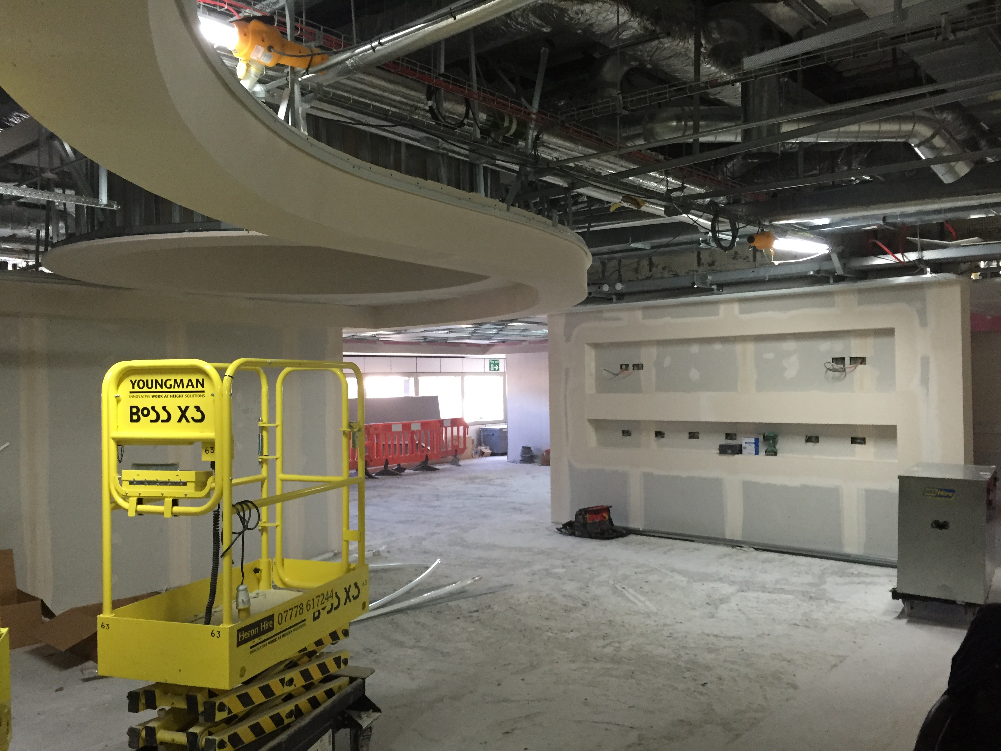 Design and Build Crew Reporting Facility South Terminal