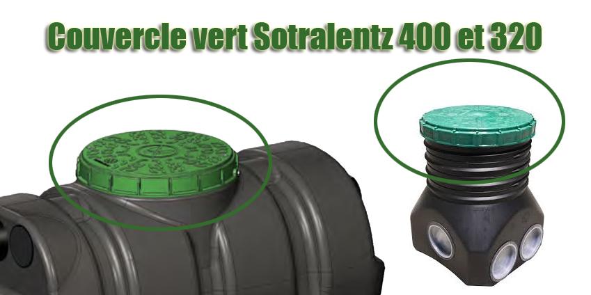 Couvercle Vert Sotralentz 400 Et 320 Aqua Assainissement