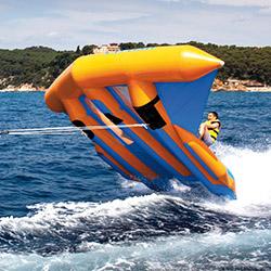 Banana Voladora acuática aguas abiertas