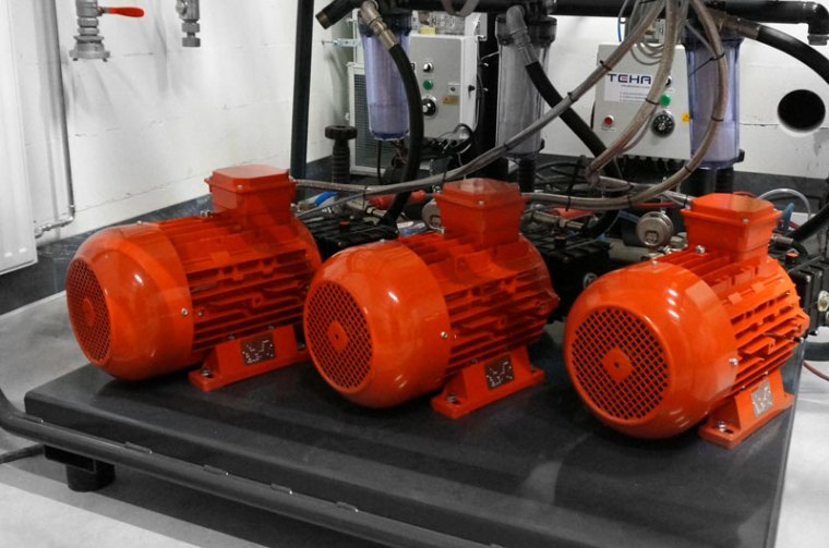 Wysokociśnieniowe instalacje stacjonarne dla wielu stanowisk roboczych