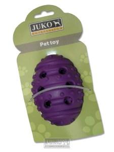 Igračka JAJE tvrda guma 12cm