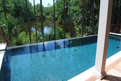 Vanishing Edge Pool | Aqua Blue Pools