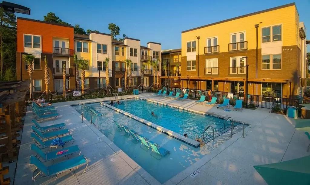 Multi Family Swimming Pool Located In North Charleston