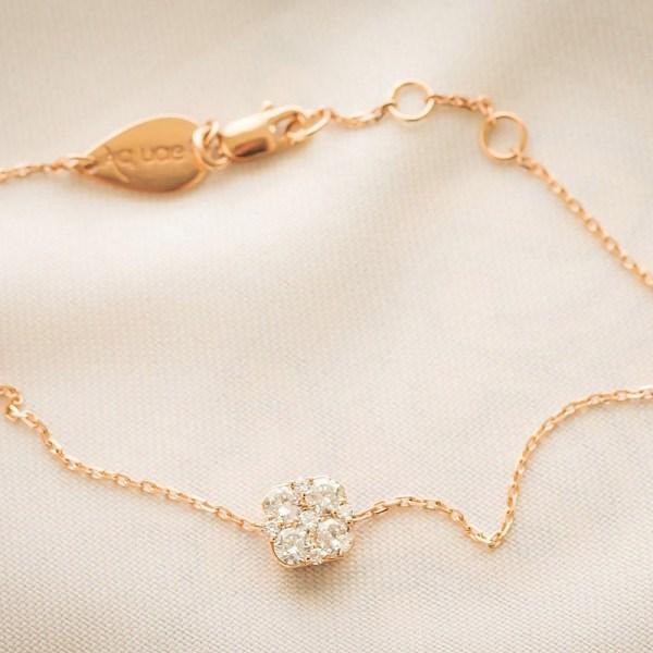 Bracelet Cushion Cluster