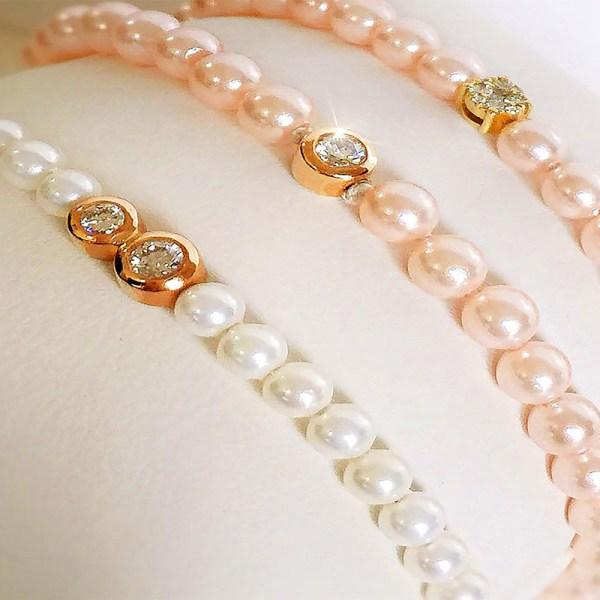 Bracelet Pearls Duo