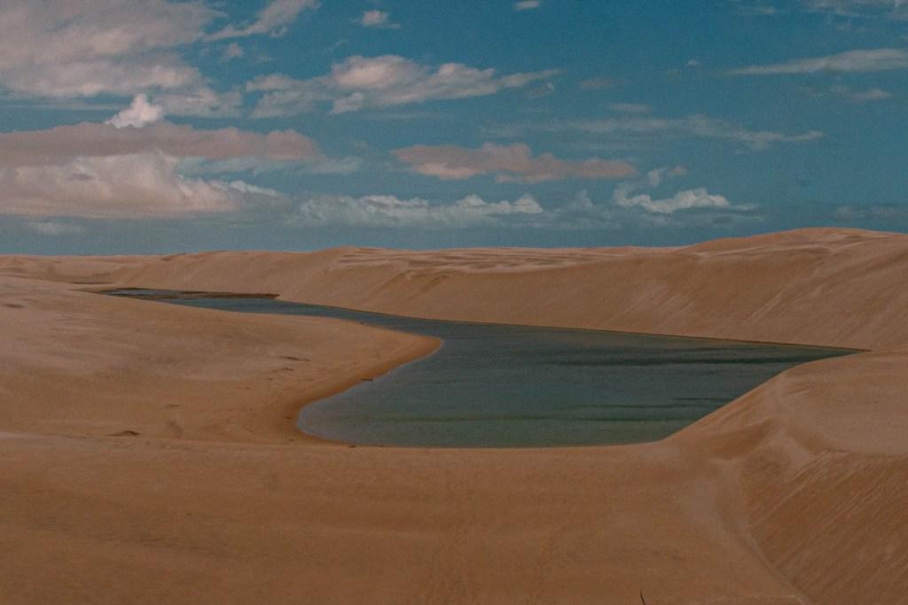 Mer Roudaire - Chott en Algérie