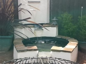 Bristol water feature build