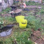 Garden pond re-build