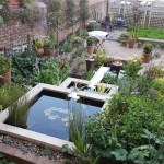 Bristol garden water feature & landscaping project in Kingsdown