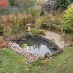 Pond re-line Bristol completed