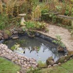 Wildlife pond completed
