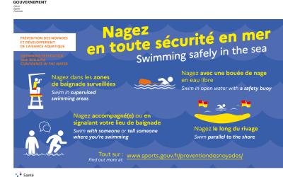 Campagne de Prévention des noyades et Développement de l'Aisance Aquatique