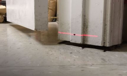 sagging floors in interior of home