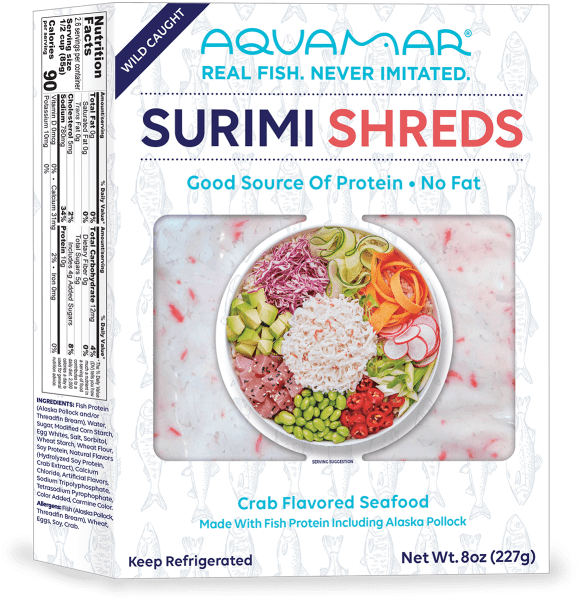 Surimi Shreds