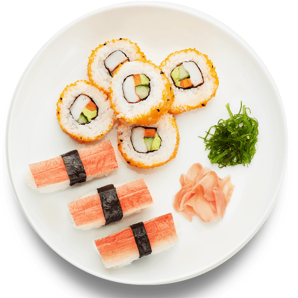 Surimi California Roll