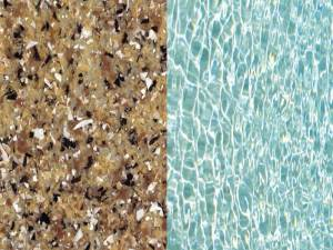 Pebble Beach Finish Swimming Pool Color by Viking Pools