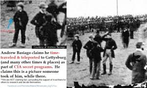 Basiago CIA program Gettysburg