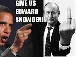 Snowdon Obama Putin