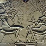 Akhenaten Nefertiti and BabyTut