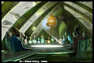 Alien Council Meeting