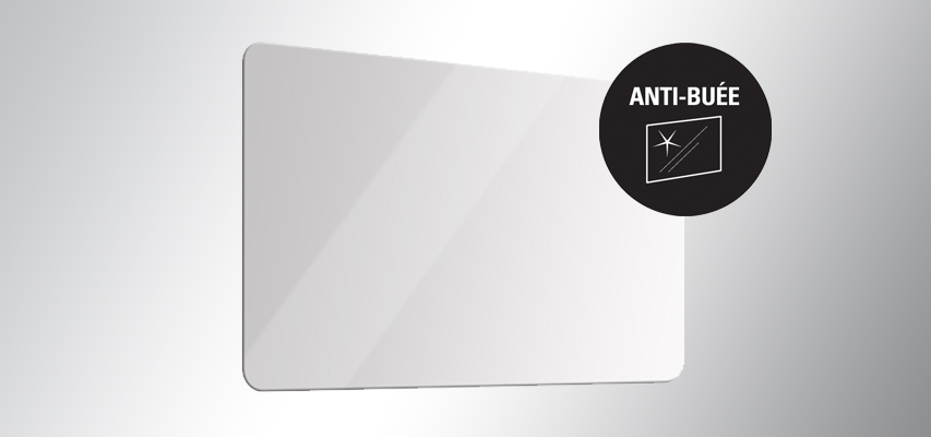 Miroir Led Retro Eclaire Avec Anti Buee Aura Anti Buee Aquarine