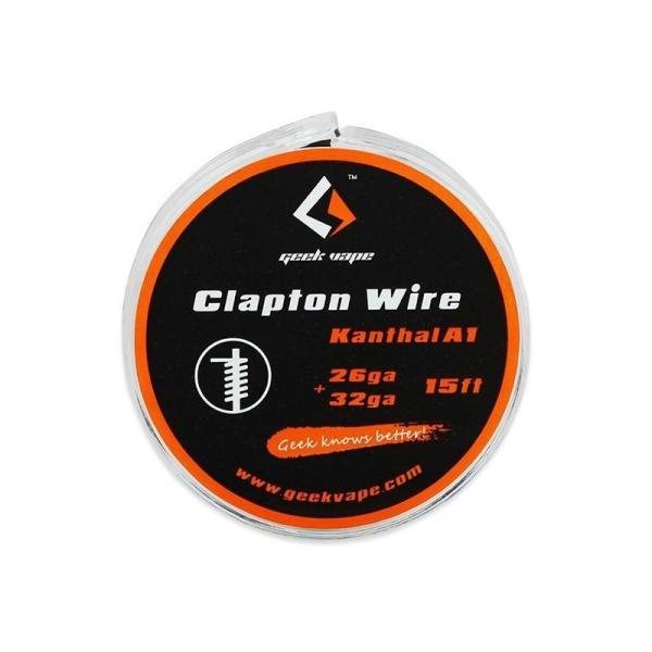 GeekVape Kanthal Clapton 26GA + 32GA
