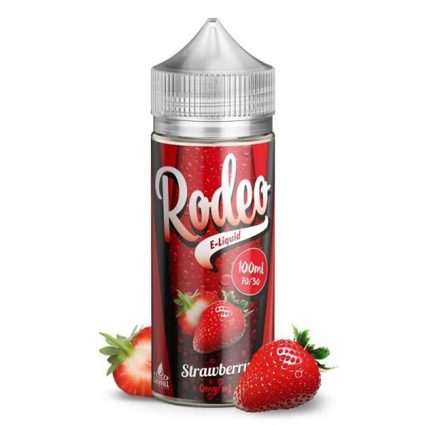 Rodeo Strawberry 100ml 0mg