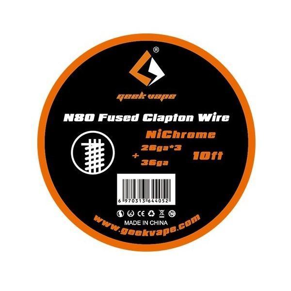 GeekVape Ni80 Fused Clapton Wire 26GA*3+36GA
