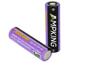 Bateria AK3030 20700 3000 mAh 40A Ampking