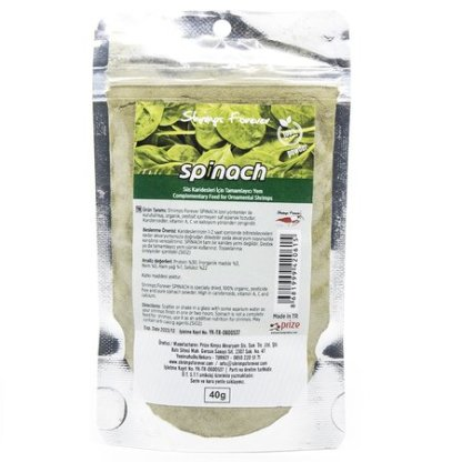 shrimps forever natural spinach powder