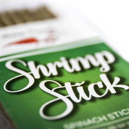 shrimps forever spinach lollies