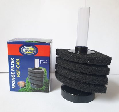 aquanova sponge filter nsf-c40l