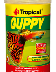 tropical guppy flakes