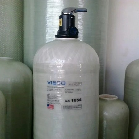 FRP Tank Visco with manual valve