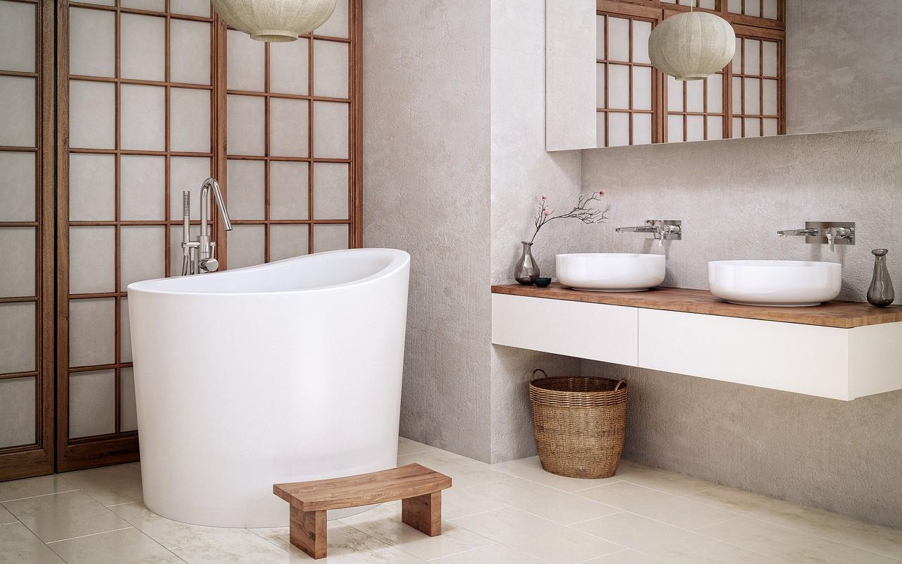 Bathing History In Your Bathroom Japanese Soaking