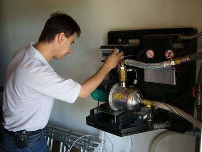 Installation d'un gestionnaire d'eau de pluie