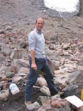 Etude fonte d'un glacier en Equateur