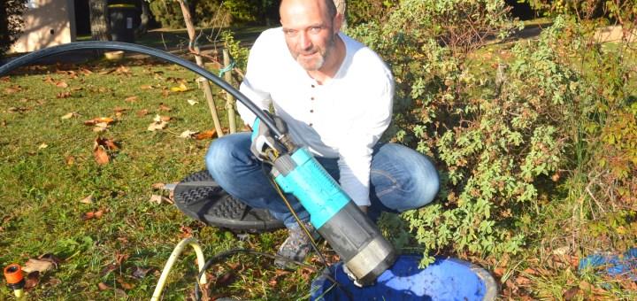 Bertrand Gonthiez, spécialiste de la gestion de l'eau