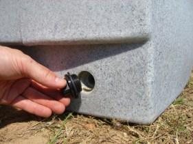 Bouchon de vidange du récupérateur d'eau de pluie