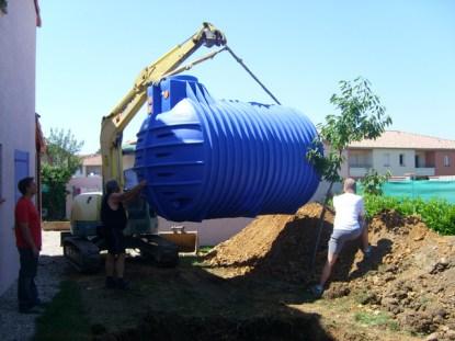 Equipement récupération d'eau de pluie éligible au crédit d'impôt