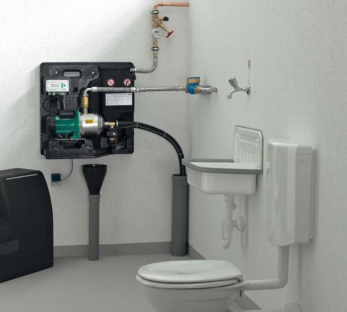 pompe gestionnaire d 39 eau de pluie centrale de gestion nf. Black Bedroom Furniture Sets. Home Design Ideas
