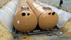 Récupération d'eau de pluie pour un supermarché Leclerc