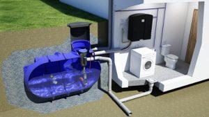 Récupérateur d'eau de pluie pour la maison