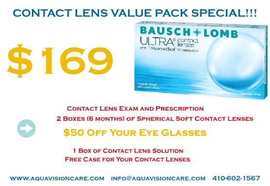 Contact Lens Value Pack Special – Bausch Lomb